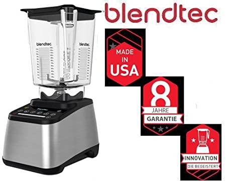 Blendtec - 725 Plata Incl Wild Side Jar 3, 8 PS Smoothie Licuadora ...
