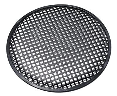 "Universal 12 Inch (12"") Subwoofer Speaker Metal Grill Waffle Cover Guard Pack of 2 (Pair)"