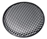Universal 15 Inch (15'') Subwoofer Speaker Metal Waffle Cover Guard Grill Pack of 2 (Pair)