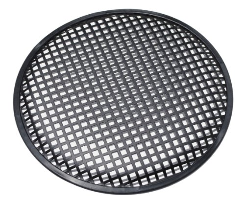 "Price comparison product image Universal 12 Inch (12"") Subwoofer Speaker Metal Grill Waffle Cover Guard Pack of 2 (Pair)"