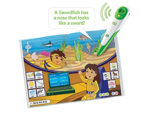 Leapfrog Tag Activity Storybook Go Diego Go!: Underwater Mystery by LeapFrog (Image #2)