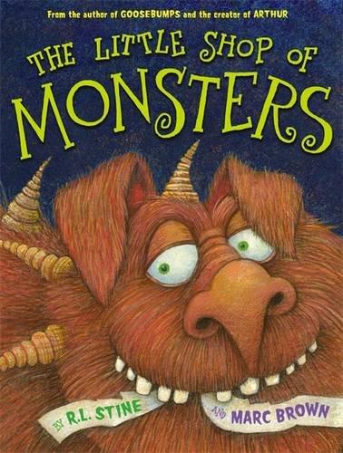 Little Shop Monsters R L Stine product image