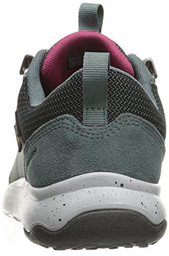 Teva Arrowood Wp, Zapatos de Low Rise Senderismo para Mujer, Azul (Slate-Slaslate-Sla), 36 EU
