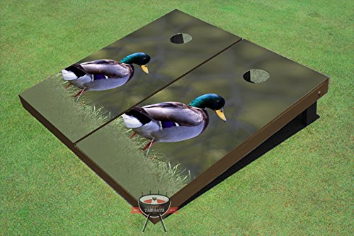 Mallard Theme Corn Hole Boards Cornhole Game Set