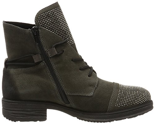 Remonte Vrouwen D1787 Combat Boots Grijs (as / Stromboli)