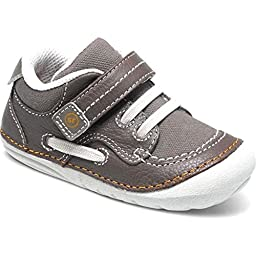 Stride Rite Baby Boy\'s SRT SM Dawson (Infant/Toddler) Brown Sneaker 4.5 Toddler XW