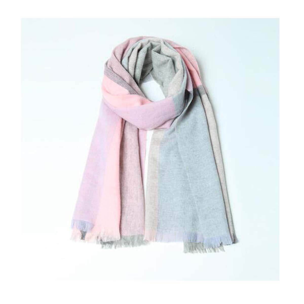 TONGBOSHI 両方の50Mの紫色のための胸当ての暖かく、快適な女性のスカーフのショール D