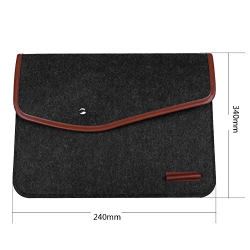 Tablet Widewing For Phone Portable Laptop Protection Felt 13in Cover Bag rERrw7q