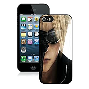 Nice Designed Phone Case With Cloud Cover Case For iPhone 5S Black Phone Case CR-124