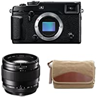 Fujifilm X-Pro2 Body Professional Mirrorless Camera (Black) + XF23mmF1.4 R + Domke F-5XB Camera Bag
