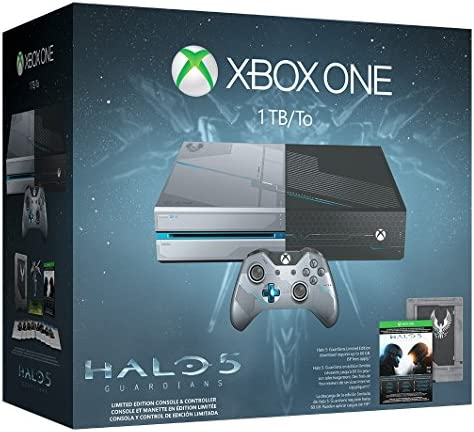 Xbox One 1TB Console - Limited Edition Halo 5: Guardians Bundle by ...