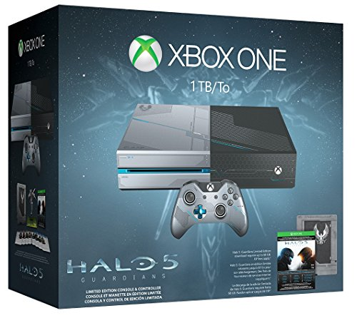 xbox one 1tb limited edition halo 5 console