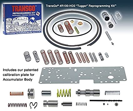 Ford 4R100 E4OD Transgo Reprogramming Kit 1989-2004