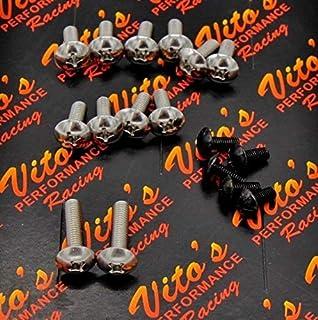 Amazon com: Door Hinge Pin Pins & Bushing Repair Kit Set For
