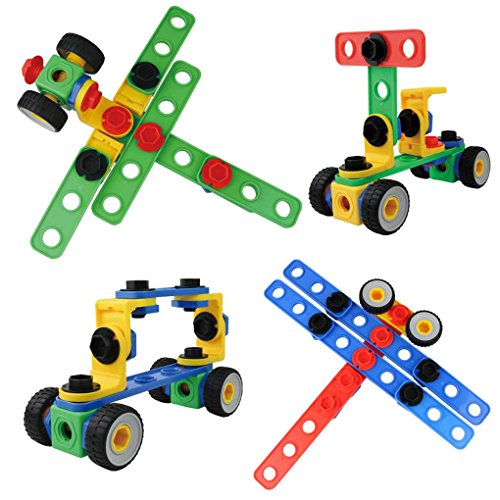 Best Construction Toys For Boys : Eti toys piece educational construction engineering