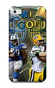 High-quality Durable Protection Case For Iphone 5c(detroit Lionsreenay Packers )