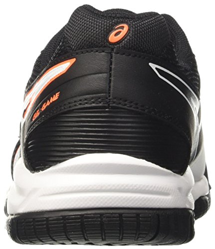 Asics Kinder-Unisex Gel-Game 5 Gs Gymnastik Elfenbein (White / Onyx / Shocking Orange)