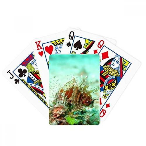 Lionfish Ocean Sea Marine Organism Poker Playing Card Tabletop Board Game Gift by beatChong