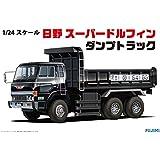 フジミ模型 1/24 トラックシリーズNo.2 日野 スーパードルフィン ダンプトラック