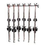 Monkey Bar Storage Wall Mounted Ski Racks (6-Pair)