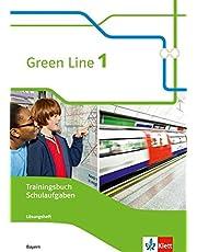 Green Line 1. Ausgabe Bayern: Trainingsbuch Schulaufgaben, Heft mit Lösungen und CD-ROM Klasse 5 (Green Line. Ausgabe für Bayern ab 2017)