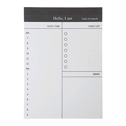 Amazon.com : COSEme Sticky Notes 50 Sheers DIY Planner Memo ...