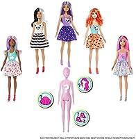 Barbie GPG14- Muñeca Color Reveal que revela sus colores con agua, incluye ropa y accesorios, Modelos Surtidos