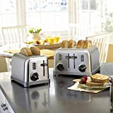 Cuisinart Metal Classic 2-Slice toaster, Brushed