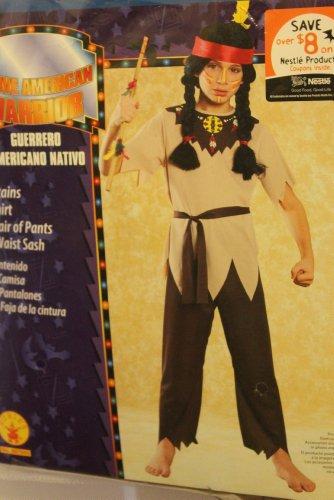 NATIV (Indian Warrior Boy Costume)
