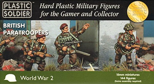 15mm British Paratroopers ()