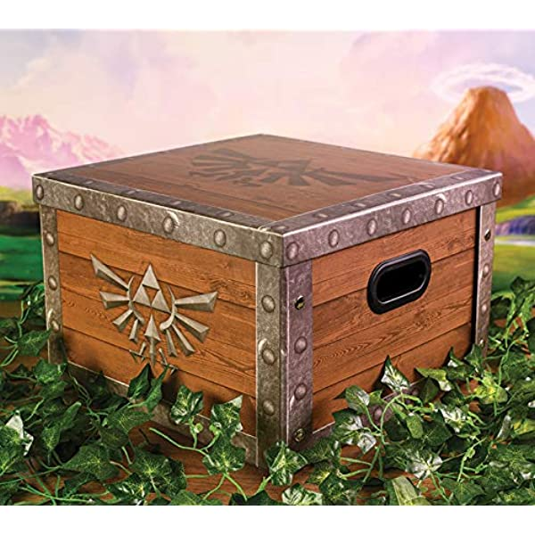 Funko Pop! - The Legend of Zelda, Caja De Almacenaje Treasure ...