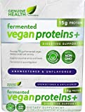 Genuine Health Fermented Vegan Proteins plus Digestive Support Unsweetened Unflavored -- 15 Packets - 3PC