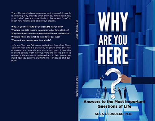 Why Are You Here? by Sola Osundeko M.D. ebook deal