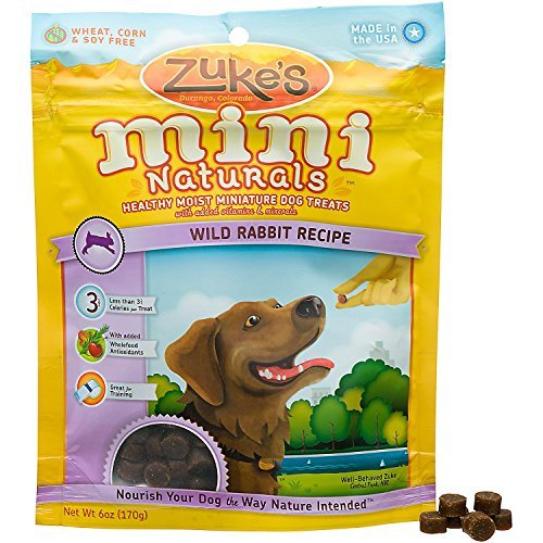 (Mini Natural Wild Rabbit Dog Treat 6 oz )