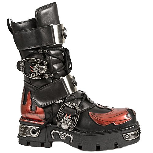 Flame Men's and Bat Red M Reactor New S1 195 Rock Boots Black 4aYwAx