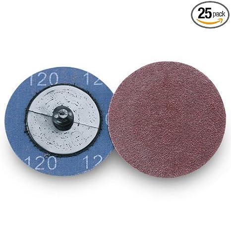 "25-3/"" Roloc A//O Quick Change Sanding Disc 60 Grit"