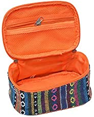 JINGXIN Outdoor Camping Kitchen Utensils Storage Bag Ethnic Style Picnic Travel Hiking Portable Container