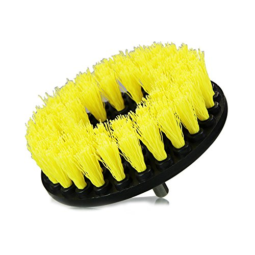 Price comparison product image Chemical Guys ACC_201_BRUSH_MD Medium Duty Carpet Brush with Drill Attachment, Yellow