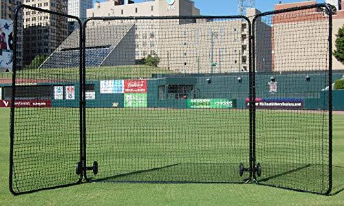 - TACVPI Tri Fold Baseball Field Screen - Varsity