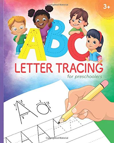 ABC Letter Tracing Preschoolers Practice product image