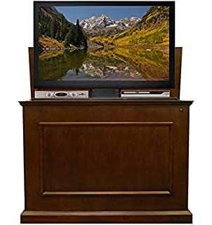 Touchstone 72008 Elevate TV Lift Cabinet U2013 50u201d Wide Television Stand Wood U2013  Espresso