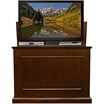 Superb Touchstone 72008 Elevate TV Lift Cabinet U2013 50u201d Wide Television Stand Wood U2013  Espresso