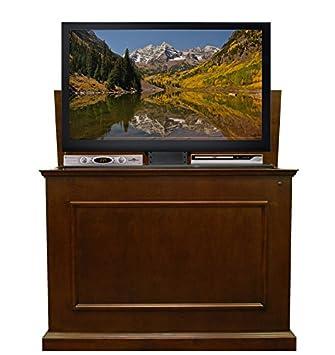 touchstone elevate tv lift cabinet u2013 50u201dwide television stand wood u2013 espresso