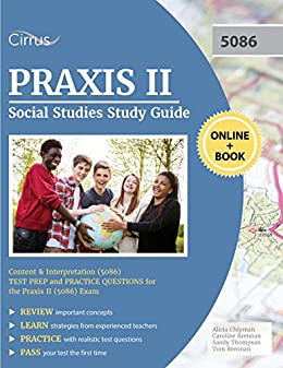 Amazon praxis ii social studies study guide content and praxis ii social studies study guide content and interpretation 5086 test prep and fandeluxe Choice Image