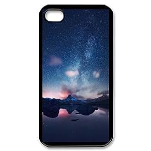 iPhone 4,4S Cell Phone Case , Star Sky Theme Custom Phone Case