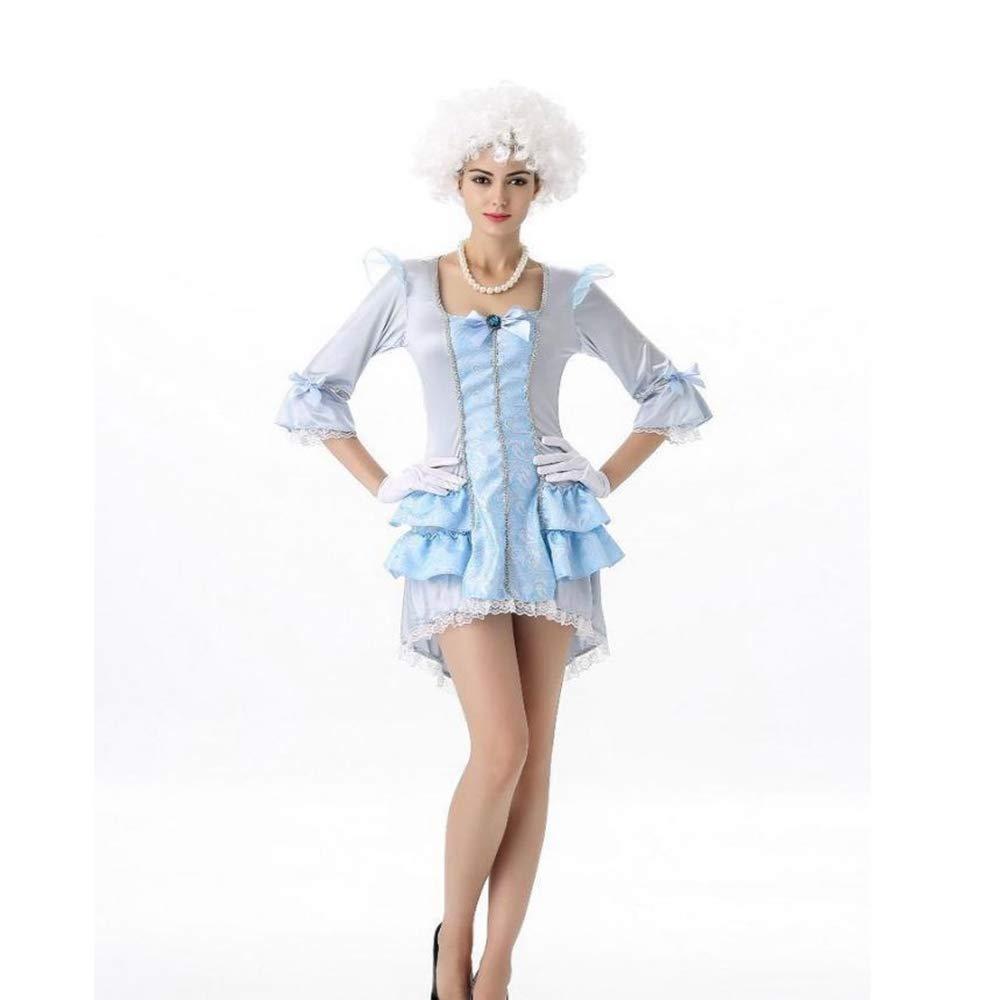 Yunfeng Hexenkostüm Damen Hexenkostüm Damen Prinzessin Kleid Kostüm Halloween Kostüm weihnachtskostüm Abendkleid Abschlussball Leistung
