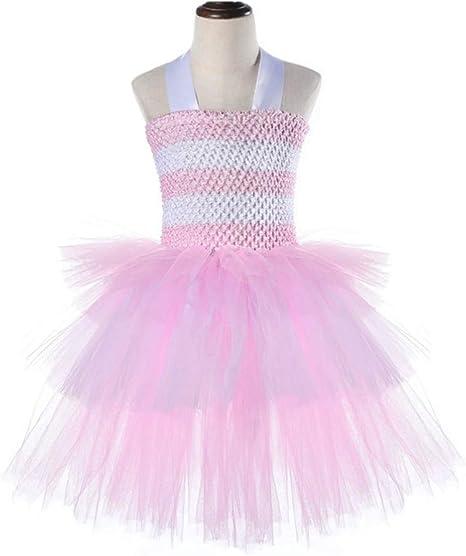 Happyyami Vestido Falda Malla Encaje tutú Vestido Princesa ...