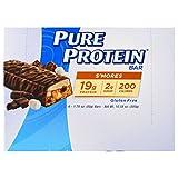 Pure Protein, S'mores Bar, 6 Bars, 1.76 oz (50 g) Each - 3PC