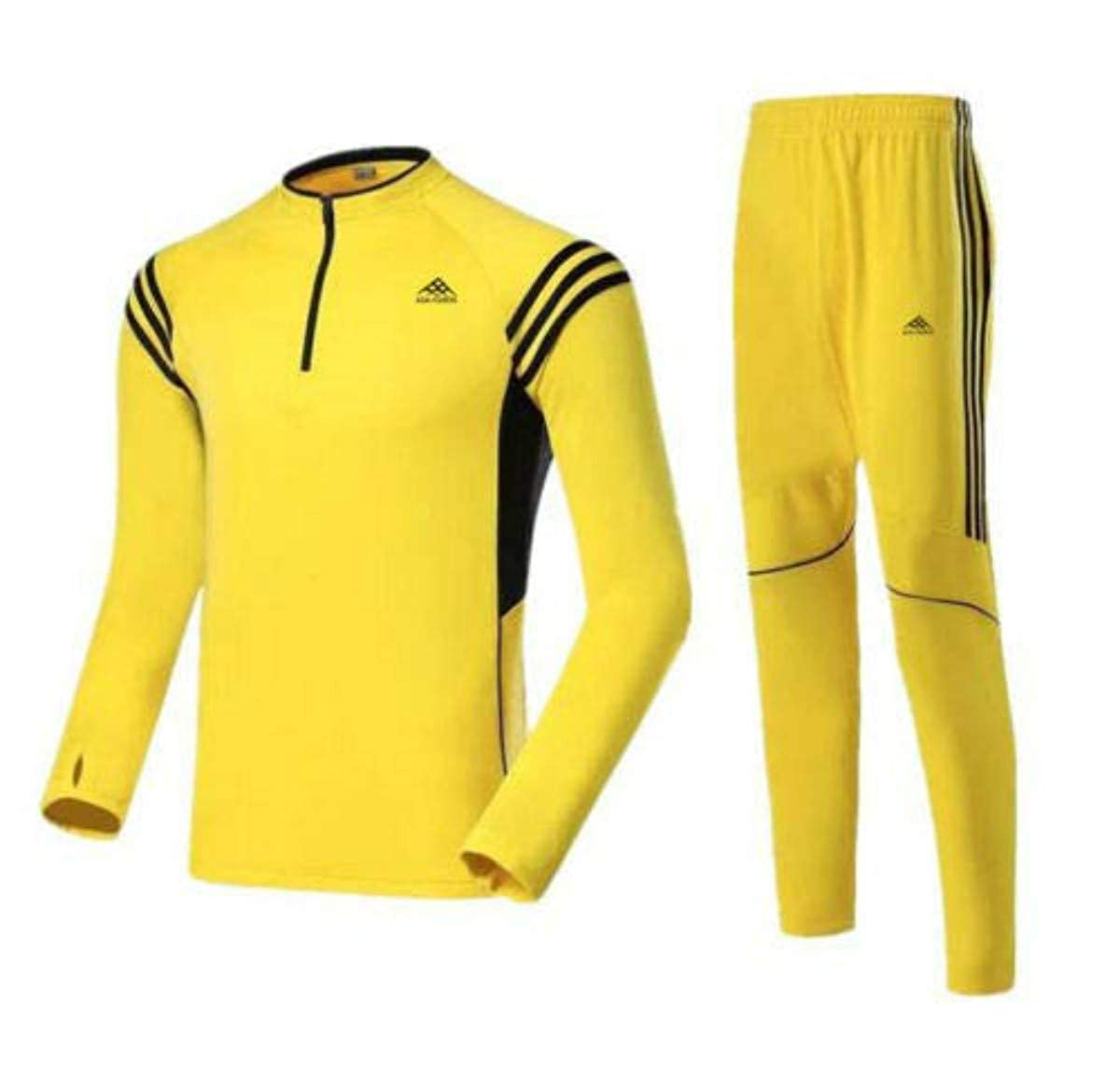 ADA-XSHION Men Tracksuit Sport Long SLV Shirt Jacket Suit Sets TrousersTop Pants Jogging