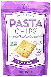 Pasta Chips Snacks, Rosemary, 5 Ounce (Pack of 12)